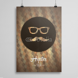 Poster Hipster