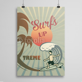 Poster Surf's up