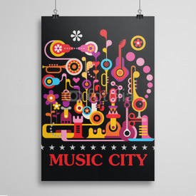 Poster Music City