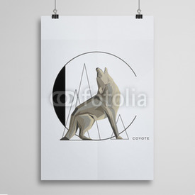 Poster Coyote