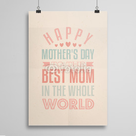 Poster Happy Mother's Day