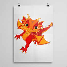 Poster Baby dragon