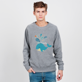 Bluza męska Whale in love