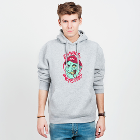 Bluza męska z kapturem Famous monsters
