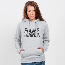 Bluza z kapturem damska Power To Woman