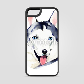 Etui na iPhone 5 Pies husky