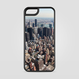 Etui na iPhone 5/5s/5SE Manhattan z lotu ptaka