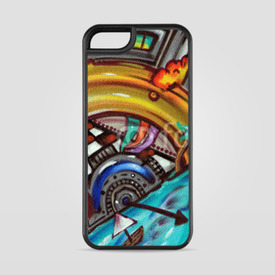 Etui na iPhone 5/5s/5SE Sztuka street art