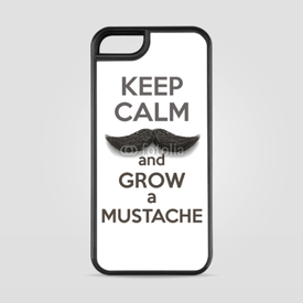 Etui na iPhone 5/5s/5SE Keep Calm and grow a Mustaches