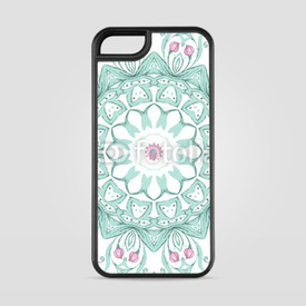 Etui na iPhone 5/5s/5SE Watercolor mandala on white background
