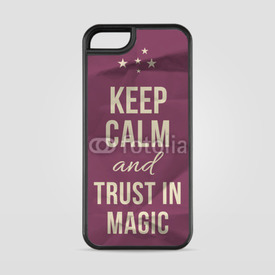 Etui na iPhone 5/5s/5SE Keep calm trust in magic