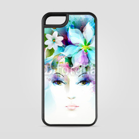 Etui na iPhone 5/5s/5SE Beautiful fashion women face