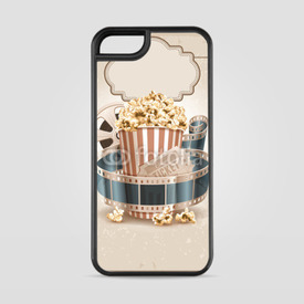 Etui na iPhone 5/5s/5SE Retro popcorn