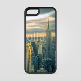 Etui na iPhone 5/5s/5SE New York City wieczorem