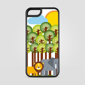 Etui na iPhone 5/5s/5SE Małe safari