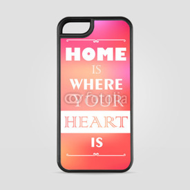 "Etui na iPhone 5/5s/5SE Retro card with quote ""Make something cool every day"""