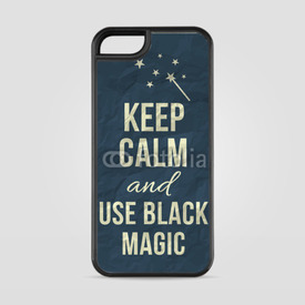 Etui na iPhone 5/5s/5SE Keep calm and use black magic