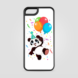 Etui na iPhone 5/5s/5SE Panda and Balloons