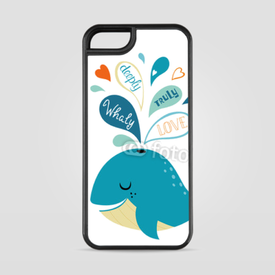 Etui na iPhone 5/5s/5SE Whale in love