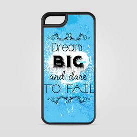 Etui na iPhone 5/5s/5SE Dream big and dare to fail