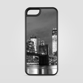 Etui na iPhone 5/5s/5SE Brooklyn Bridge and Manhattan