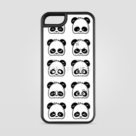 Etui na iPhone 5/5s/5SE Emoticon Panda
