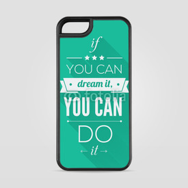 Etui na iPhone 5/5s/5SE You can do it
