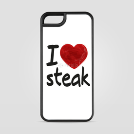 Etui na iPhone 5/5s/5SE I love steak
