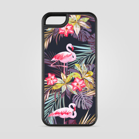 Etui na iPhone 5/5s/5SE Tropikalne Flamingi