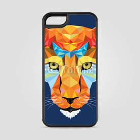 Etui na iPhone 5/5s/5SE Mozaikowy lampart
