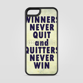 Etui na iPhone 5/5s/5SE Winners never quit