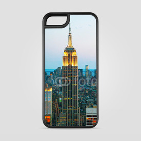 Etui na iPhone 5/5s/5SE Empire State Building o zmierzchu