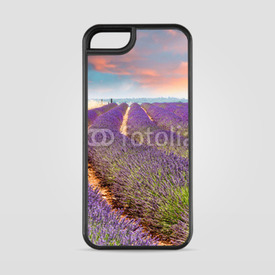 Etui na iPhone 5/5s/5SE Pole lawendy