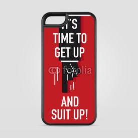 Etui na iPhone 5/5s/5SE Get up and suit up