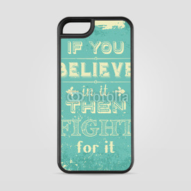 Etui na iPhone 5/5s/5SE Fight for it