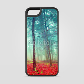 Etui na iPhone 5/5s/5SE Colorful mystic autumn trees