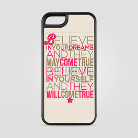 Etui na iPhone 5/5s/5SE Believe in yourself