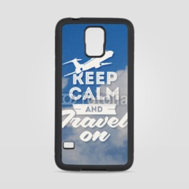 Obudowa na Samsung Galaxy S5 Keep calm and travel on
