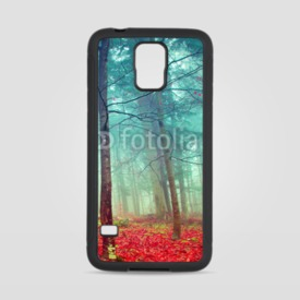 Obudowa na Samsung Galaxy S5 Colorful mystic autumn trees
