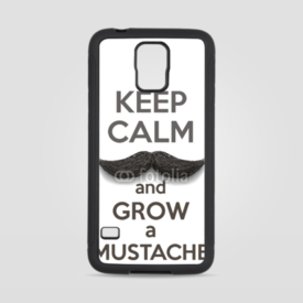 Obudowa na Samsung Galaxy S5 Keep Calm and grow a Mustaches