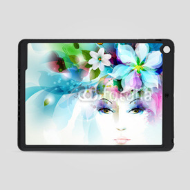 Obudowa na iPad Air Beautiful fashion women face
