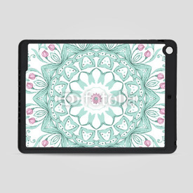 Obudowa na iPad Air Watercolor mandala on white background