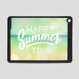 Obudowa na iPad Air Happy summer time