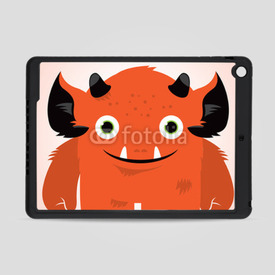 Obudowa na iPad Air Cute monster