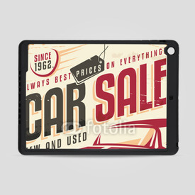 Obudowa na iPad Air Care sale vintage sign