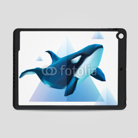 Obudowa na iPad Air Orca Decor
