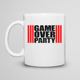 Kubek do herbaty Game Over Party
