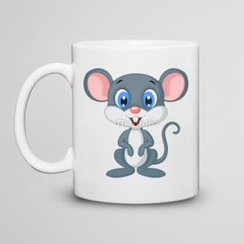 Kubek do herbaty Cute mouse cartoon