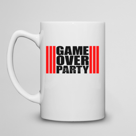Kubek do herbaty duży Game Over Party