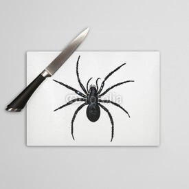 Deska do krojenia Engraving vintage Spider